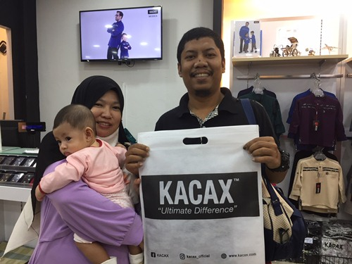 Testimoni customer butik kacax