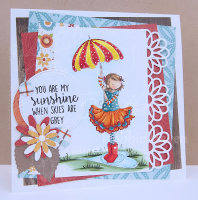 Heather's Hobbie Haven - Rachel Love the Rain Card Kit
