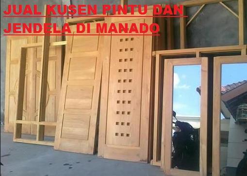 JUAL PINTU KAYU DAN JENDELA DI MANADO MURAH