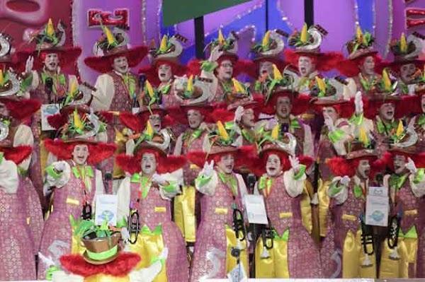 Los Nietos de Sary Mánchez murga ganadora Carnaval Las Palmas de Gran Canaria 2017