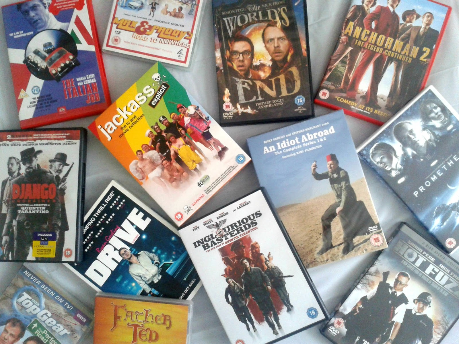 DVDs for him Christmas Gift Guide