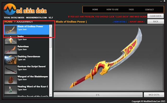 Juggernaut Blade of Endless Power