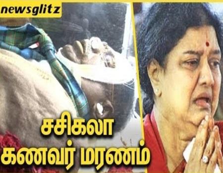 Sasikala's Husband M.Natarajan Dies