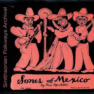 Trío Aguilillas - Sones de México (1950)