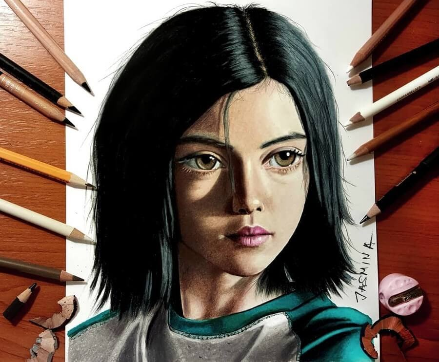 01-Alita-the-Battle-Angel-Jasmina-Susak-3D-and-2D-Comic-Book-Superheroes-and-Video-www-designstack-co