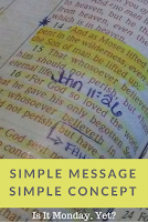 Simple Message of Salvation