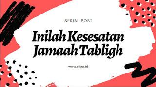 Pengakuan Mantan Jamaah Tabligh
