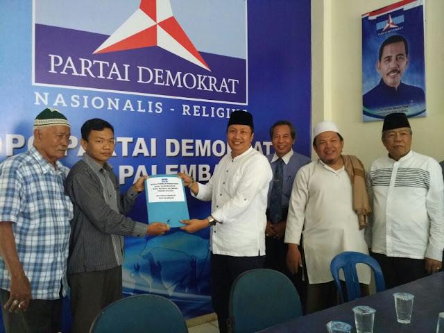H Wijaya Yakinkan Maju di Pilkada Kota Palembang
