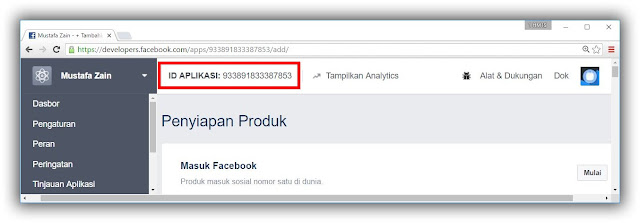 FB developer