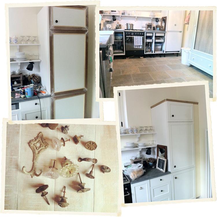 Restyling di una cucina ikea shabby chic interiors - Dipingere una cucina ...