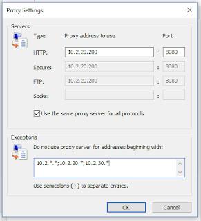Pengertian Proxy, Manfaat Proxy dan Cara Setting Proxy