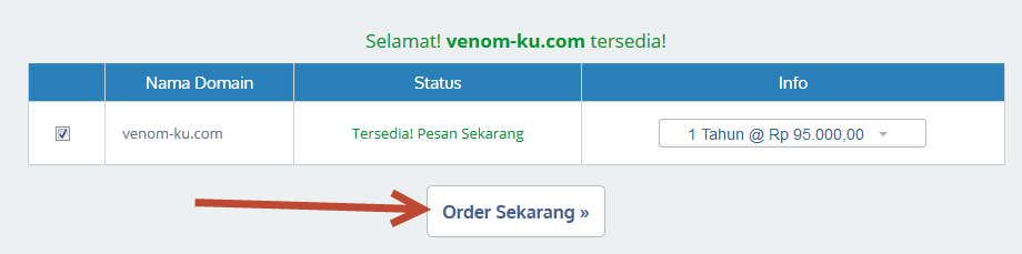 order domain