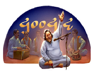 Google Pays Tribute Nusrat Fateh Ali Khan's 67th Birthday