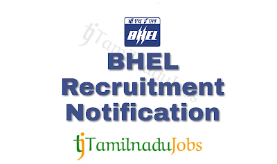 BHEL Recruitment notification of 2018