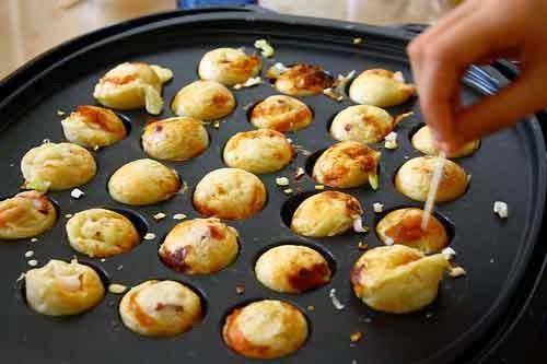 Resep Kue Jepang Takoyaki: Resep Takoyaki Kacang Enak Dan Mudah