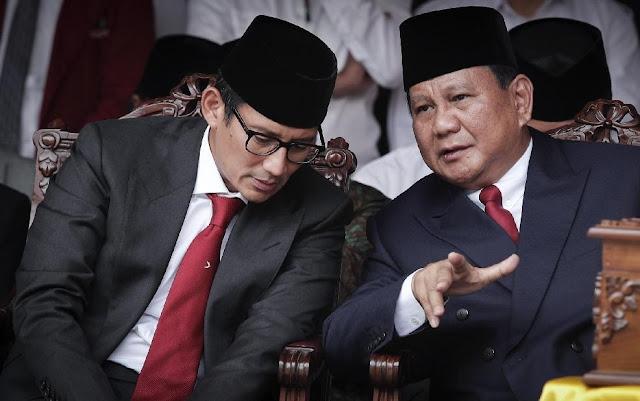 Mereka Menebar Ketakutan Kalau Prabowo-Sandi Menang