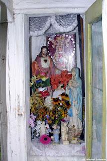 Bojany, kapliczka domkowa