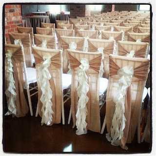 sheer fabric chair covers
