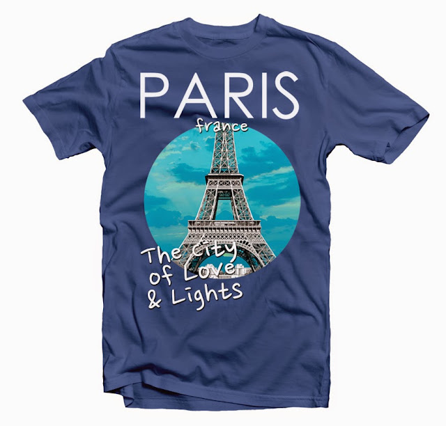 paris tshirt design