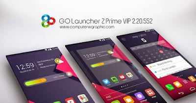 تحميل لانشر GO Launcher Z Prime VIP