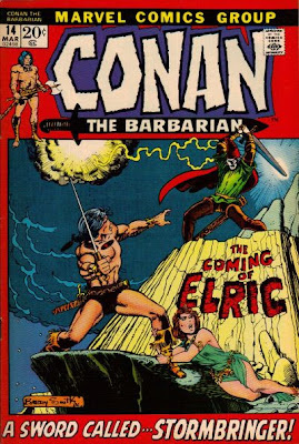Conan the Barbarian #14, Conan meets Elric