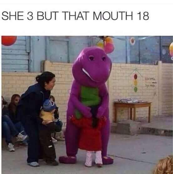 twisted barney jokes