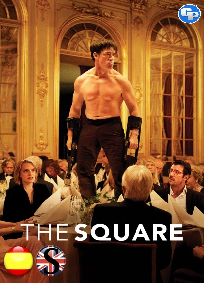 The Square La Farsa del Arte (2017) HD 1080P ESPAÑOL/INGLES
