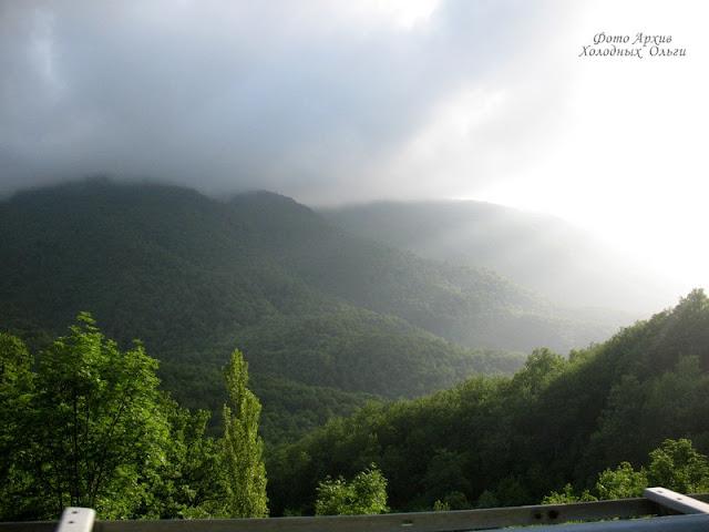 Горы в облаках