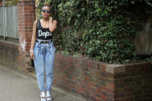 Two Looks, One London: Courtney: Dope