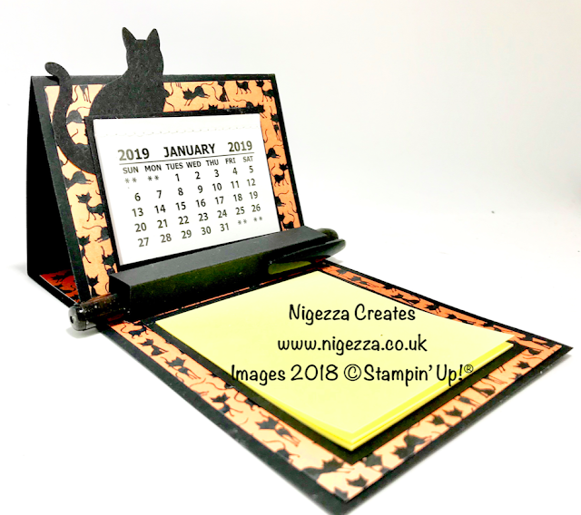 Craft Fair Idea: Desk Calendar, Post It Note, Pen Holder Nigezza Creates