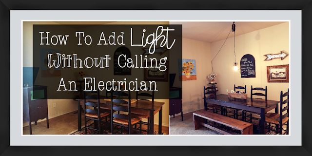 How Add Light Without Calling an Electrician