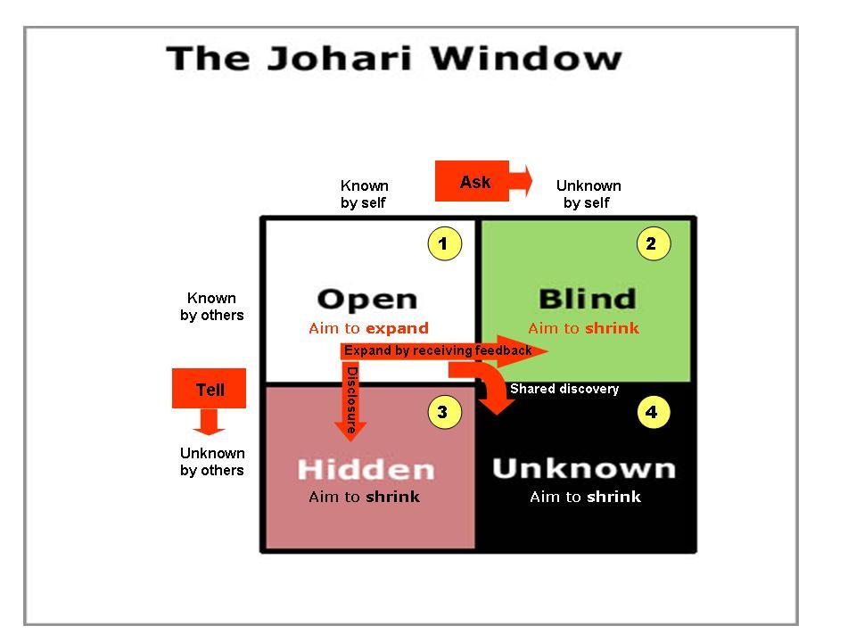 Self coach 2 success for Window quadrant