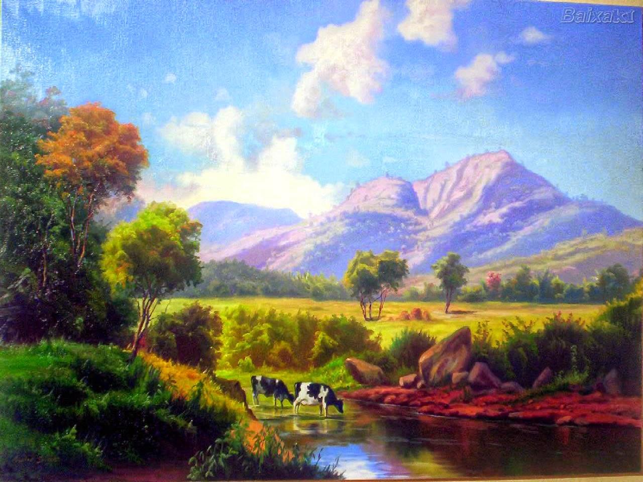 #Pintura, História, Materiais e Técnicas de Pintura