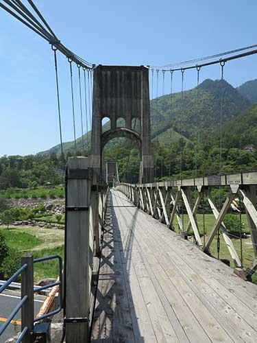 Momosuke Bridge Nagiso.