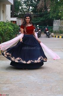 Actress Aathmika in lovely Maraoon Choli ¬  Exclusive Celebrities galleries 056.jpg