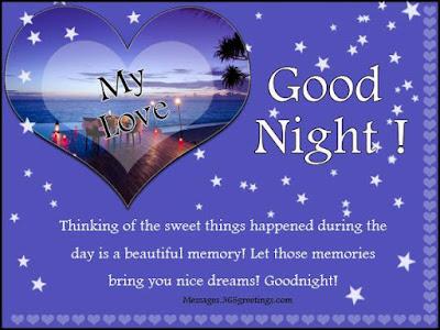 good night image with shayari
