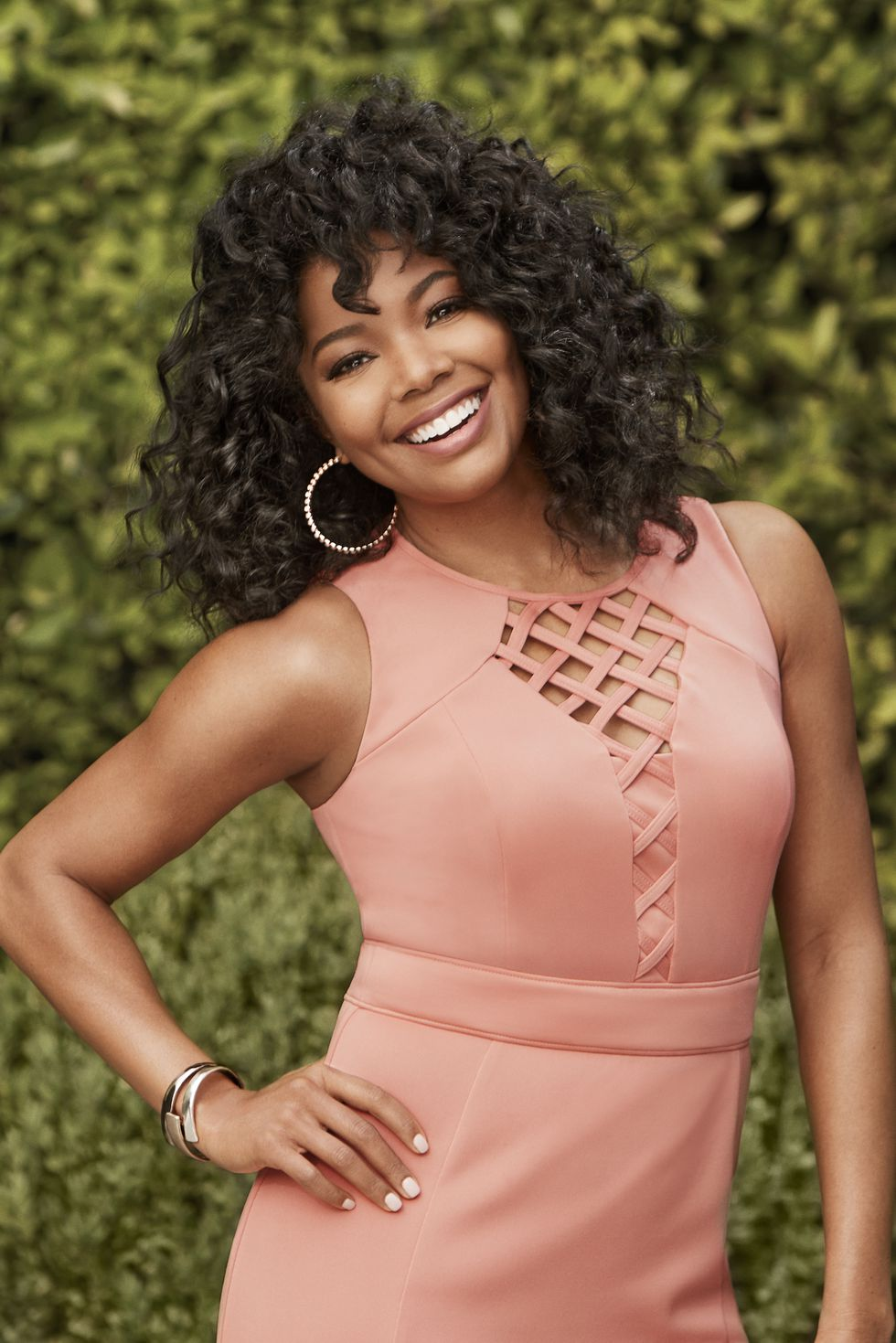 Gabrielle Union on the March 2018 Cover of Redbook Magazine
