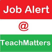 image : Job Alert @ TeachMatters