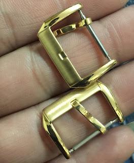 khóa cài dây da đồng hồ