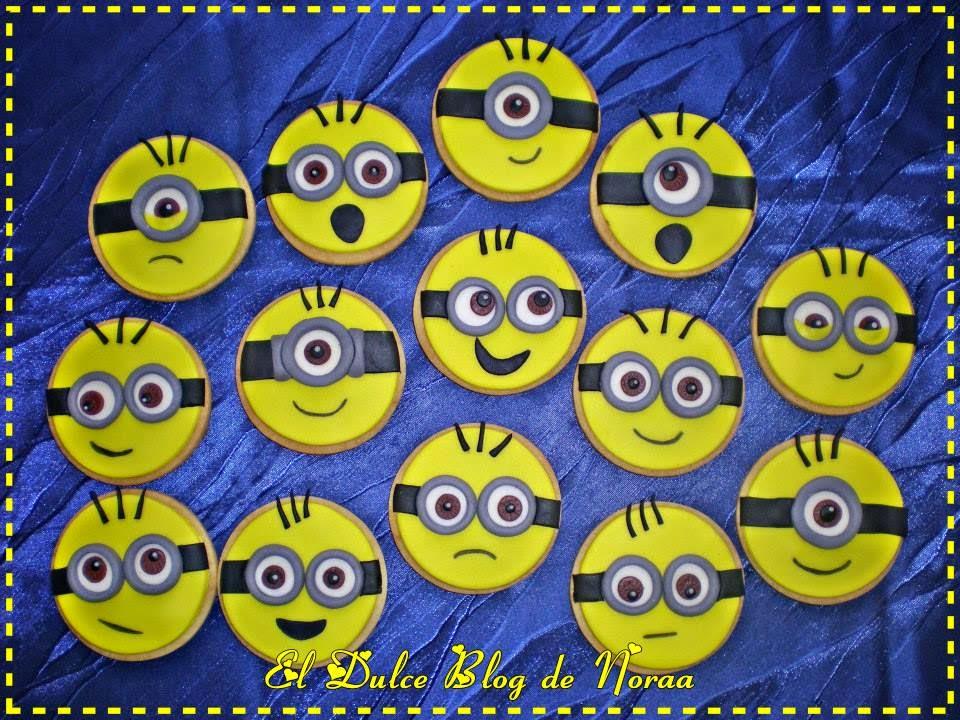 El Blog De Noraa: Galletas Minions