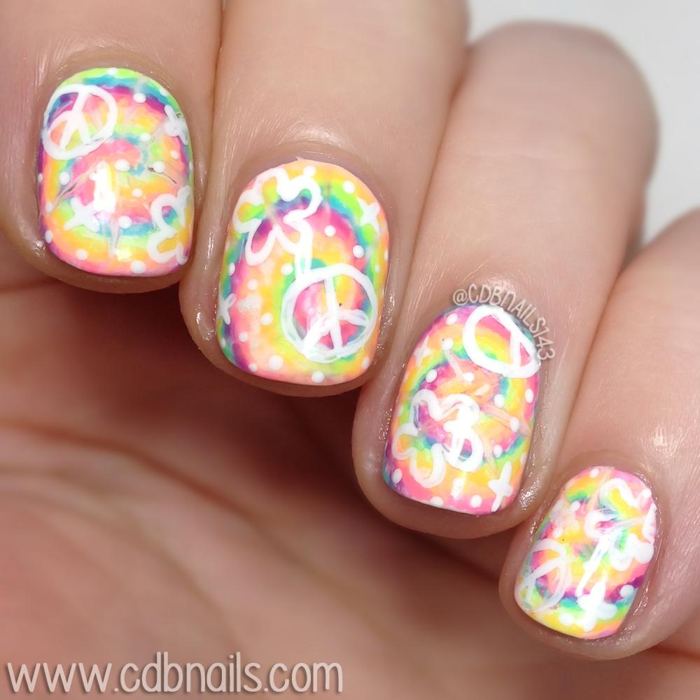 Cdbnails 40 Great Nail Art Ideas Pastel Tie Dye
