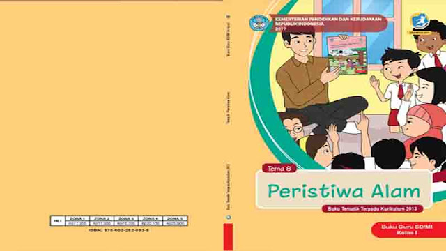 Buku Guru Kelas 1 Tema 8