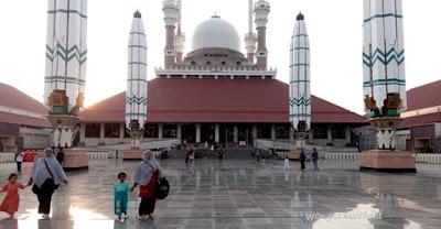lokasi masjid agung jawa tengah semarang
