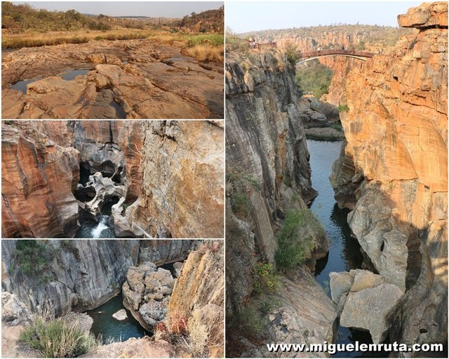 Bourke´s-Luck-Potholes-Sudáfrica