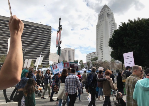 March For Our Lives Downtown LA