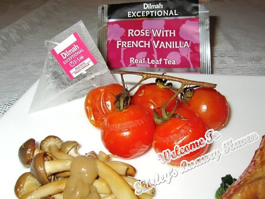 dilmah rose french vanilla tea smoked tomatoes