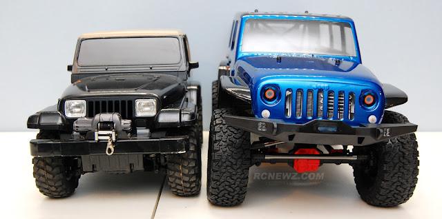 Axial SCX10 II Tamiya Jeep