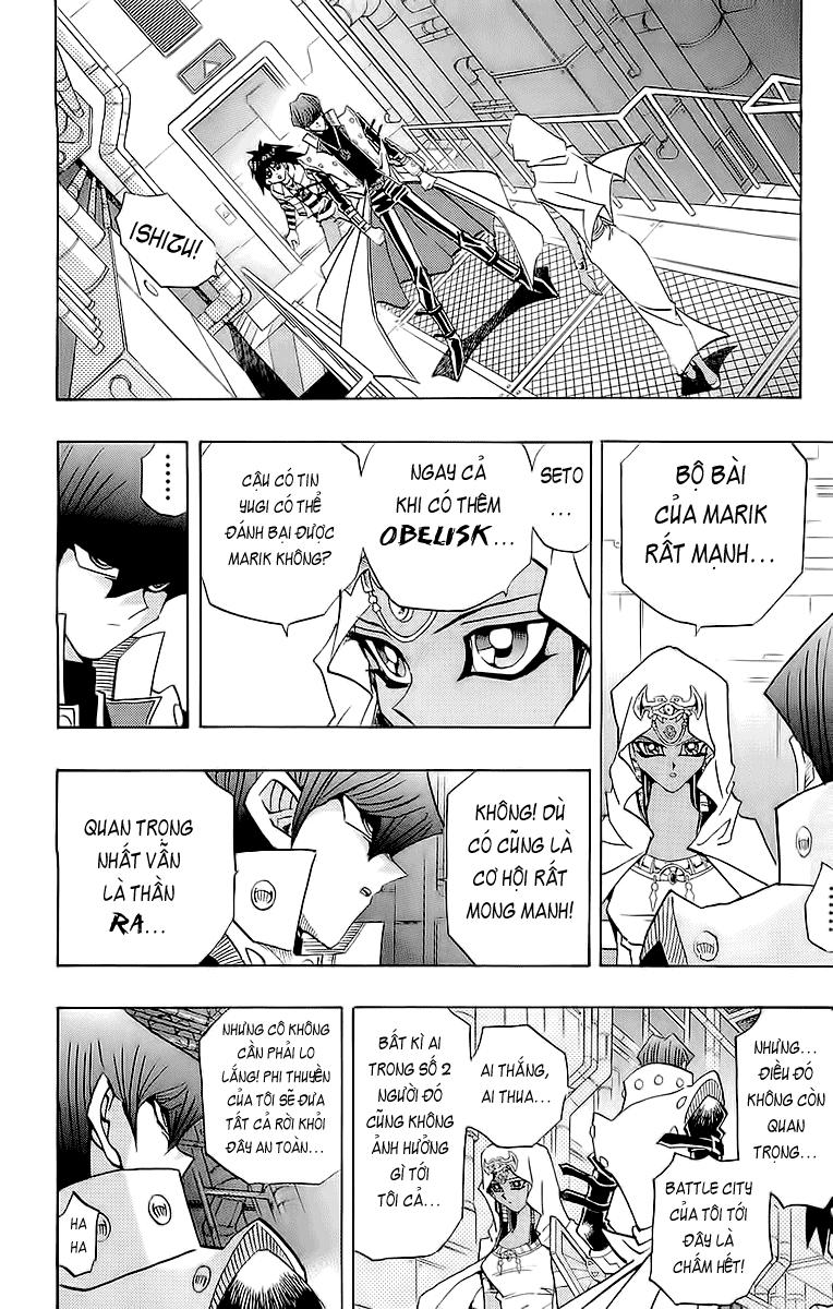 YUGI-OH! chap 263 - vị thần thứ 2 trang 16