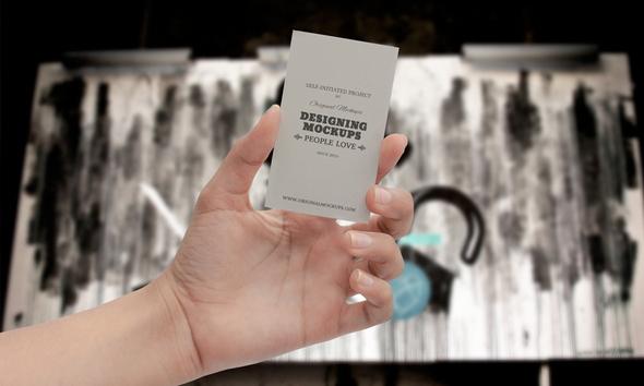 Descarga los mejores mockups de tarjeta de presentación