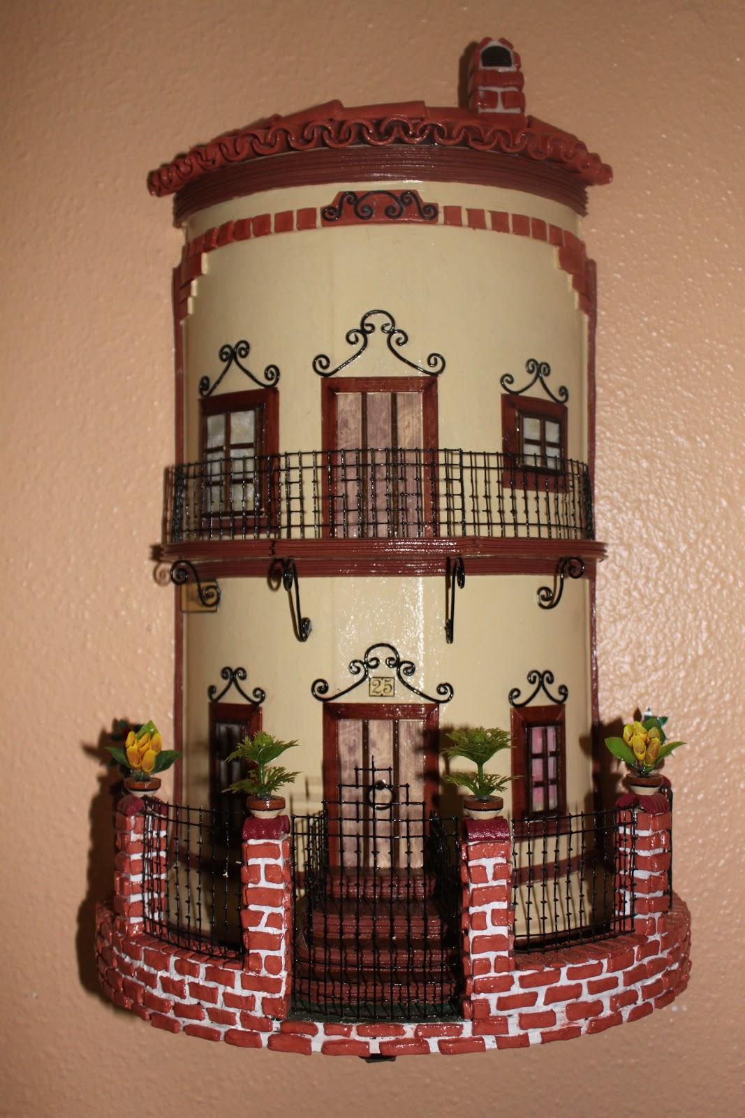 Tejas decoradas hechas a mano calle forja - Adornos de pared de forja ...